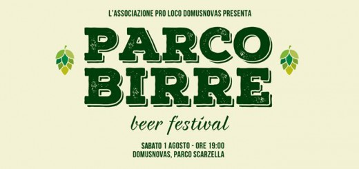 Parco Birre – Beer Festival a Domusnovas - Sabato 1 Agosto 2015