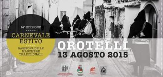 Il Carnevale Estivo di Orotelli - Giovedì 13 Agosto 2015