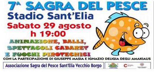 7^a Sagra del Pesce di Sant'Elia - A Cagliari il 29 Agosto 2015