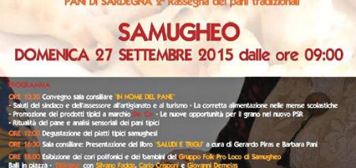 """""""Su Tzichi"""", la 17^a Sagra del Pane a Samugheo - Domenica 27 Settembre 2015"""