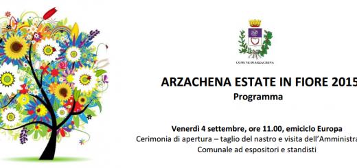 Estate in fiore 2015 ad Arzachena - Dal 4 al 6 Settembre 2015