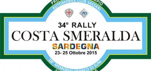 34° Rally Costa Smeralda - Dal 23 al 25 Ottobre 2015