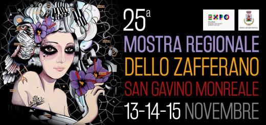 25^a Sagra dello Zafferano a San Gavino Monreale - Dal 13 al 15 Novembre 2015