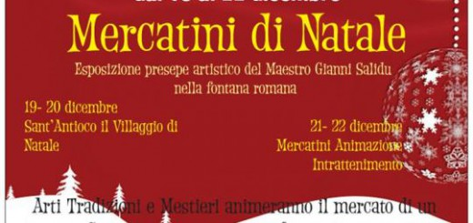 Mercatini di Natale a Sant'Antioco - Dal 19 al 22 Dicembre 2015