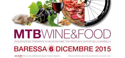 MTB Wine&Food 2015, Domenica 6 Dicembre