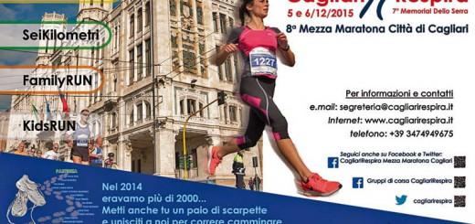 CagliariRespira 2015, Mezza Maratona Città di Cagliari