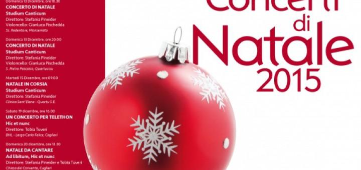 Concerti di Natale 2015 a Cagliari: Christmas Carols