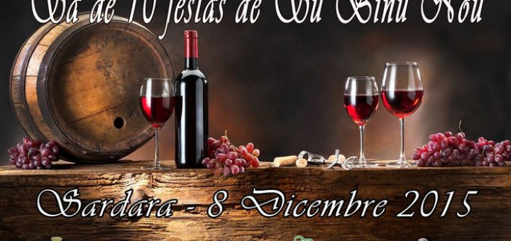 Sa Festa de su Binu Nou - A Sardara l'8 Dicembre 2015