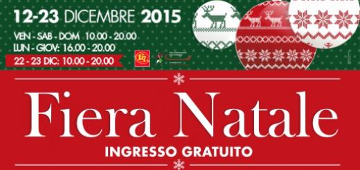 Fiera Natale - A Cagliari da sabato 12 a mercoledì 23 Dicembre 2015