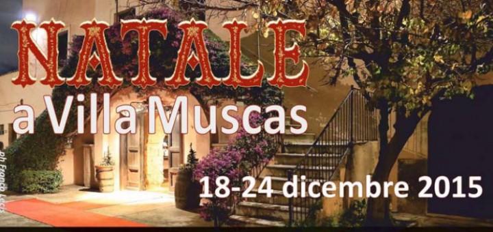 Natale a Villa Muscas - A Cagliari dal 18 al 24 Dicembre 2015