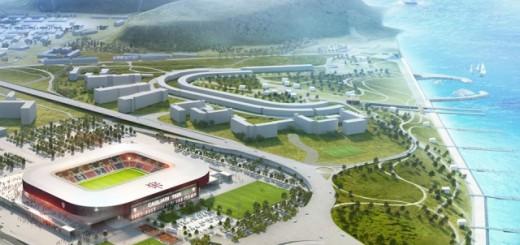 Il Cagliari Calcio ha presentato lo studio di fattibilità per il nuovo stadio