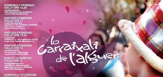 Lo Carraixali de l'Alguer 2016 - Maschere, coriandoli, balli e sfilate per tutti!