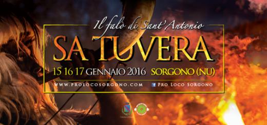 """Fuochi di Sant'Antonio Abate 2016 a Sorgono: """"Sa Tuvera"""""""