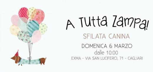 """""""A Tutta Zampa!"""" Sfilata Canina - A Cagliari il 6 Marzo 2016"""