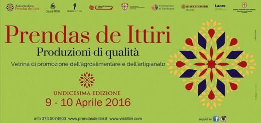 11^ edizione Prendas de Ittiri - Sabato 9 e Domenica 10 Aprile 2016