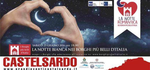 Notte Romantica a Castelsardo - Sabato 25 Giugno 2016