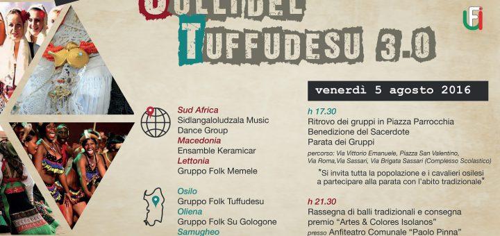 3° Festival Internazionale Colli del Tuffudesu - Ad Osilo il 5 agosto 2016