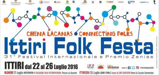 31^ edizione Ittiri Folk Festa - Dal 22 al 26 luglio 2016