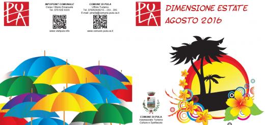 Pula Dimensione Estate – Il programma di Agosto 2016