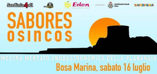 Sabores Osincos a Bosa - Sabato 16 e domenica 17 luglio 2016