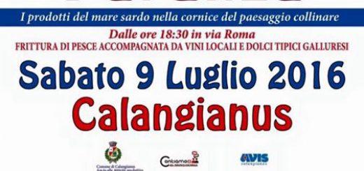 Festa della Paranza 2016 a Calangianus - Sabato 9 Luglio