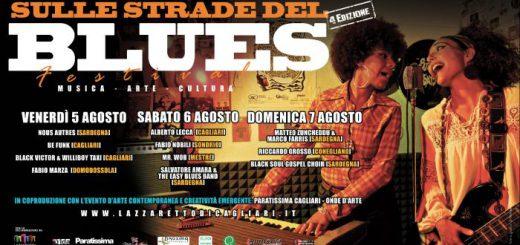 """IV edizione """"Sulle strade del Blues"""" - Dal 5 al 7 agosto 2016 al Lazzaretto di Cagliari"""