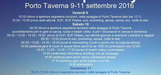 Tavolara Sport Days 2016 - Dal 9 all'11 settembre