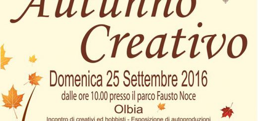 Autunno Creativo ad Olbia - Domenica 25 settembre 2016