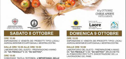 """3^ edizione della """"Sagra de su Pani e sa Tomata"""" - A Maracalagonis l'8 e 9 ottobre 2016"""