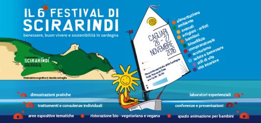 6^ edizione Festival di Scirarindi - A Cagliari il 26 e 27 novembre 2016