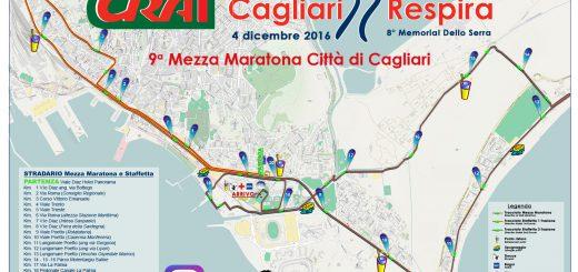 9^ CagliariRespira: Mezza Maratona Città di Cagliari - Domenica 4 dicembre 2016