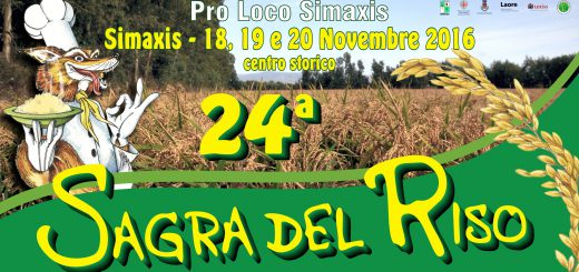 24^ Sagra del Riso a Simaxis - Dal 18 al 20 novembre 2016