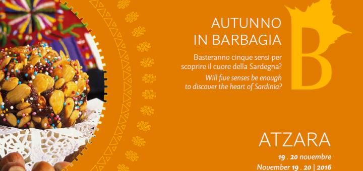Autunno in Barbagia ad Atzara - 19 e 20 novembre 2016
