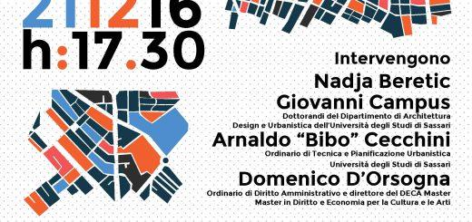 Oltre la Nuova Agenda Urbana - A Sassari mercoledì 21 dicembre 2016
