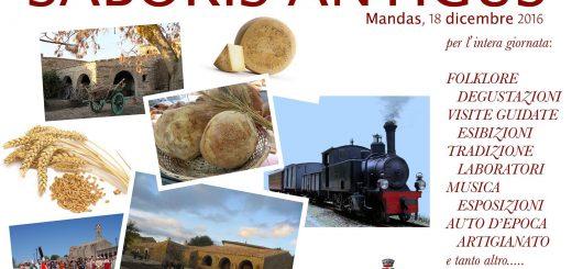 Saboris Antigus a Mandas - Il 17 e 18 dicembre 2016