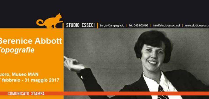 Al MAN di Nuoro la prima mostra antologica in Italia dedicata a Berenice Abbott