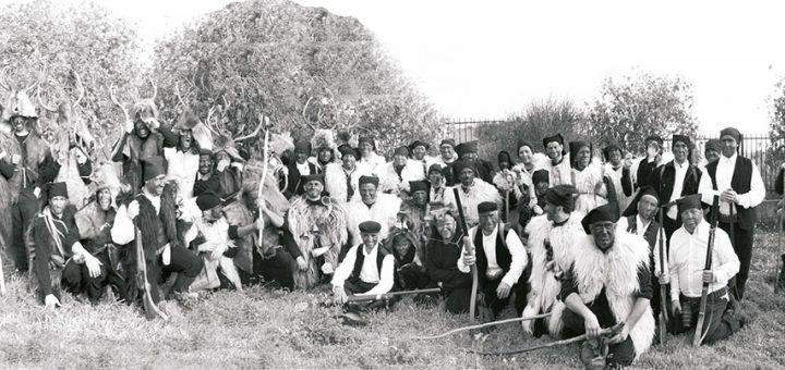 """Is Cerbus"" in una foto d'epoca (fonte Comune di Sinnai)"