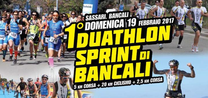 1° Duathlon Sprint a Bancali (Sassari) - Domenica 19 febbraio 2017
