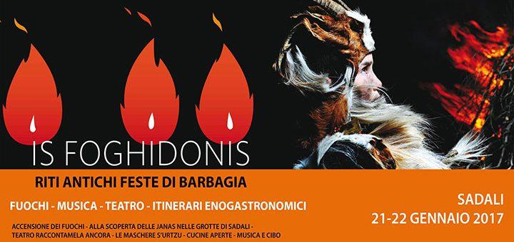 Is Foghidonis: Fuochi Sant'Antonio Abate Sadali - 21 e 22 gennaio 2017
