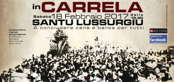 Cantigos in Carrela 2017 a Santu Lussurgiu - Venerdì 17 e sabato 18 febbraio
