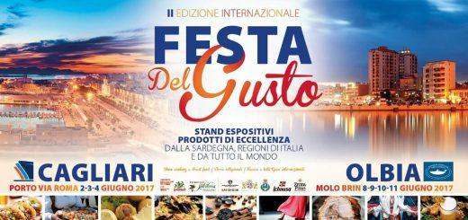 2^ Festa del gusto - A Cagliari dal 2 al 4 giugno 2017
