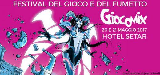 10^ edizione Giocomix - A Quartu Sant'Elena il 20 e 21 maggio 2017