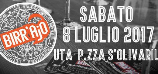 5ª edizione di Birr'Ajò Street Beer Festival - Ad Uta l'8 luglio 2017