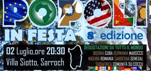 8^ edizione Popoli in Festa - A Sarroch il 2 luglio 2017