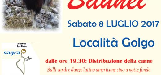 Sagra della carne di capra a Baunei - Sabato 8 luglio 2017