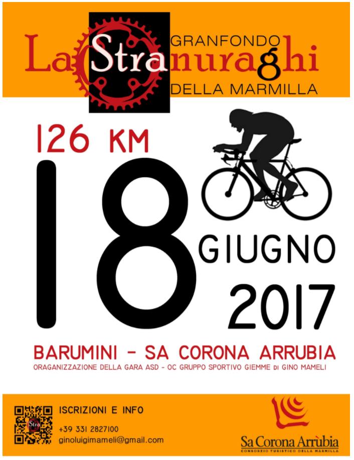 Stranuraghi - Granfondo della Marmilla: domenica 18 giugno 2017