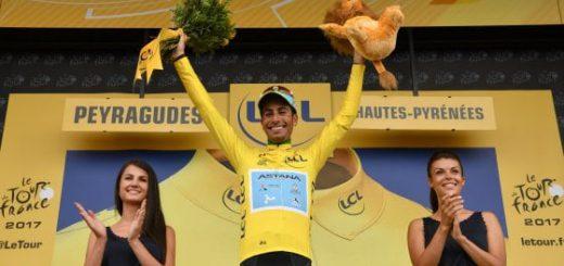 Tour de France: Fabio Aru in maglia gialla!!!
