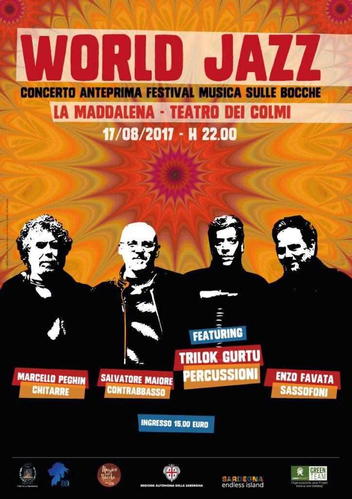Il percussionista Trilok Gurtu in Sardegna ospite speciale del trio di Enzo Favata, Marcello Peghin e Salvatore Maiore