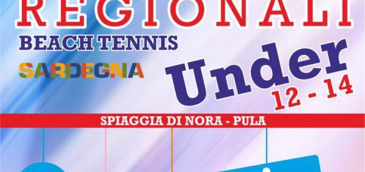 Campionati regionali di Beach Tennis Under12 e Under14 a Pula