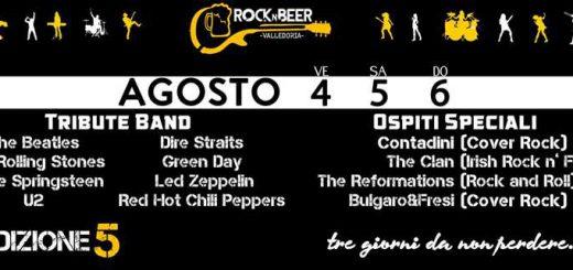 5^ edizione Rock n'Beer a Valledoria